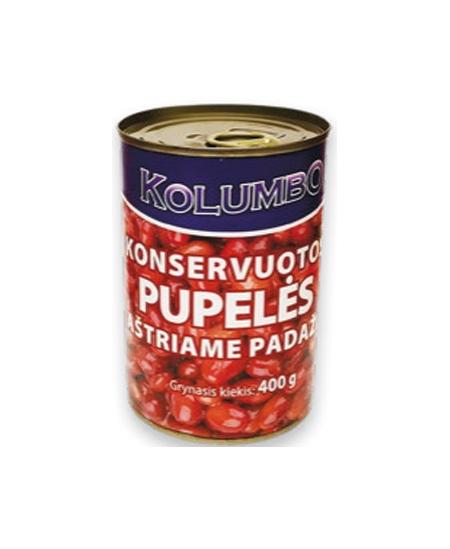 Konservuotos raudonosios pupelės KOLUMBO, 400 g
