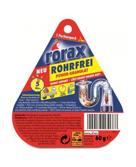 Nutekamųjų vamzdžių granulės RORAX, 60 g