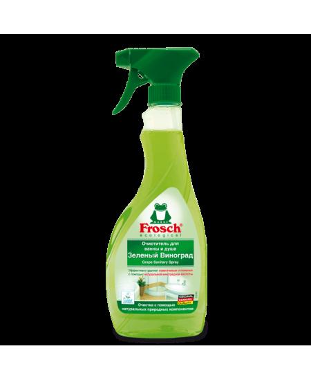 Dušų bei vonių purškiamas valiklis FROSCH, 500 ml