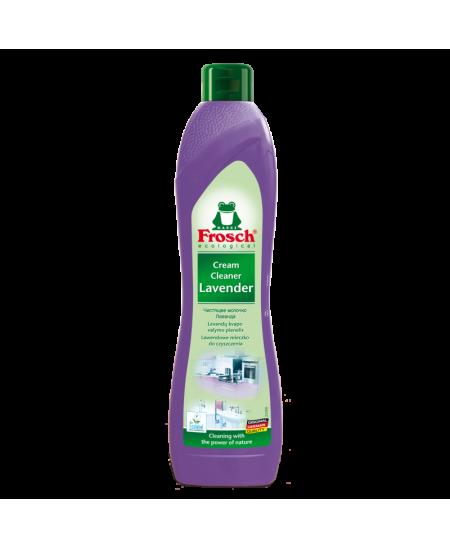 Levandų kvapo valymo pienelis FROSCH, 500 ml