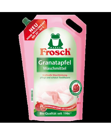 Skalbimo priemonė su granatų ekstraktu FROSCH, 1800 ml