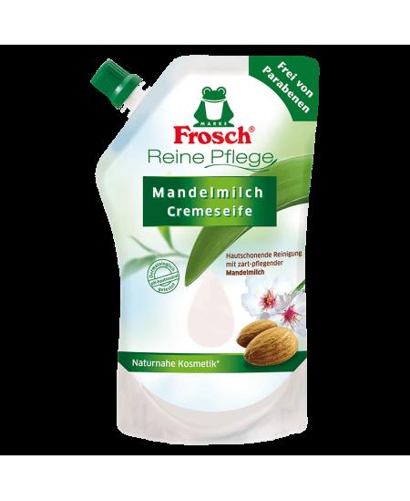 Skystas muilas su migdolų pienu FROSCH, 500 ml (papildymas)