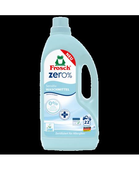 Odos nedirginanti skalbimo priemonė FROSCH ZERO%, 1500 ml