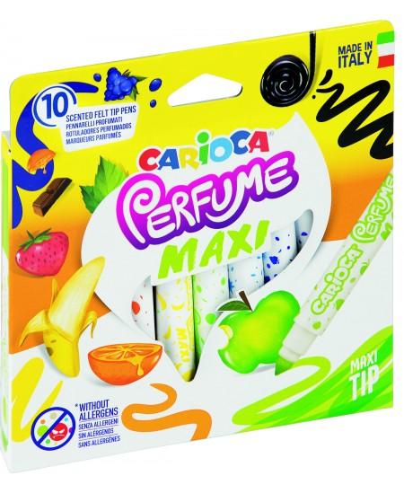 Kvepiantys flomasteriai CARIOCA Perfume Maxi, 10 spalvų