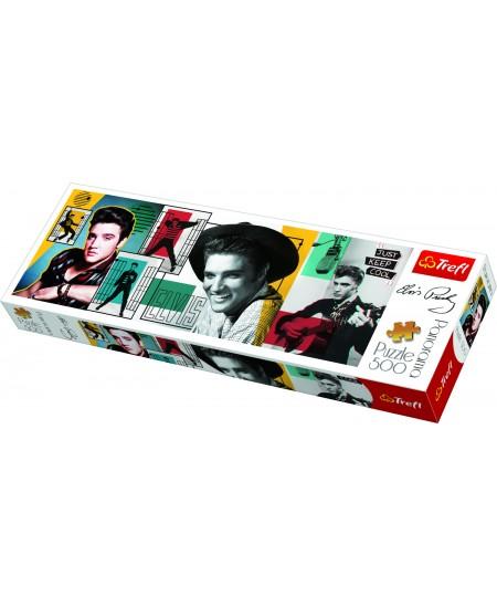 """Dėlionė TREFL """"Elvis Presley"""", panoraminė, 500 dalių"""