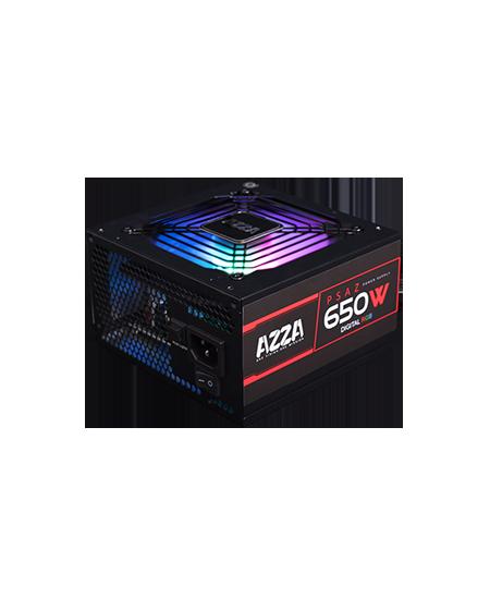 AZZA PSAZ-650W-RGB Black 650 W