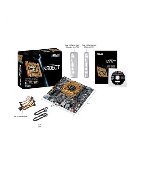 Asus N3050T Processor family Intel, Processor socket Intel SoC, DDR3, Memory slots 2, ITX