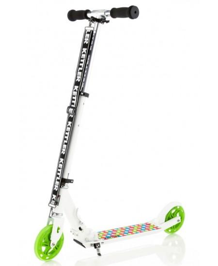 """Kettler Scooter KETTLER ZERO 6 SPOTTED white SKO Scooter, 6 """", White"""