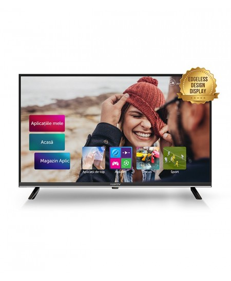 "Allview 43ATS5500-U 43"" (109cm), Smart TV, 4K UHD, 3840x2160 pixels, Wi-Fi, DVB-T / DVB-T2 / DVB-C, Black and silver"