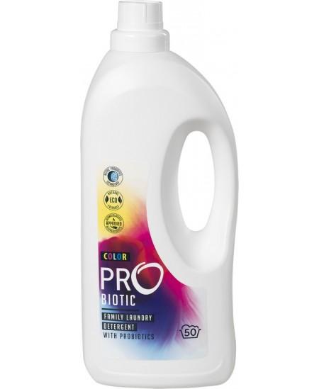 Skalbiklis su probiotikais PROBIOTIC Color, koncentruotas, spalvotiems audiniams, 50 skalbimų, 1.5 l