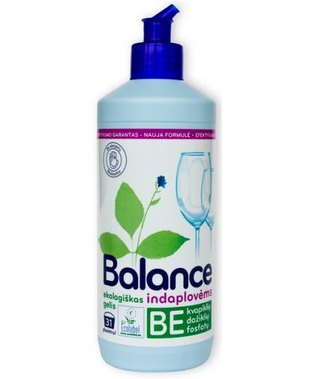 Ekologiškas gelis indaplovėms BALANCE, 500 ml