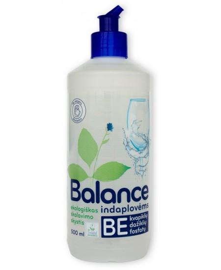 Ekologiškas skalavimo skystis indaplovėms BALANCE, 500 ml