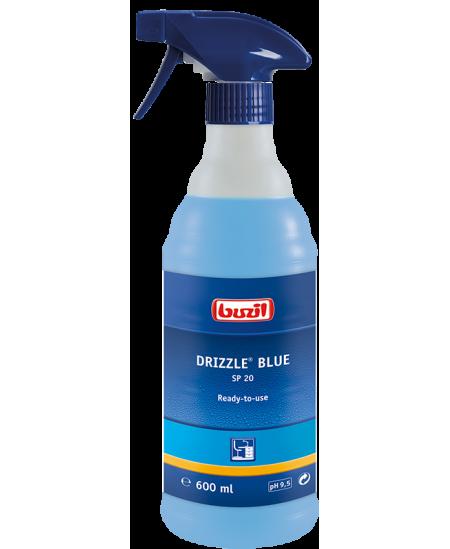Universalus valiklis BUZIL Drizzle Blue, su purkštuku, 600 ml