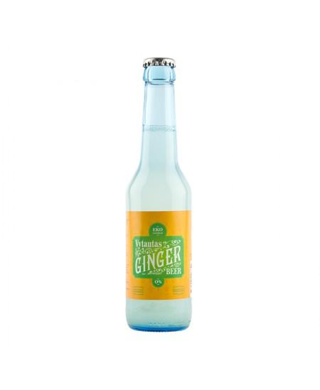 Ekologiškas imbierinis alus VYTAUTAS, 0,275l, stiklinėje taroje