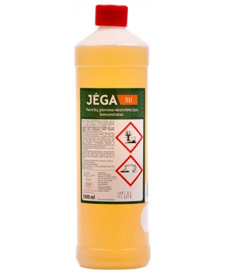 Valymo ir dezinfekavimo priemonė Jėga-5U, 1 l