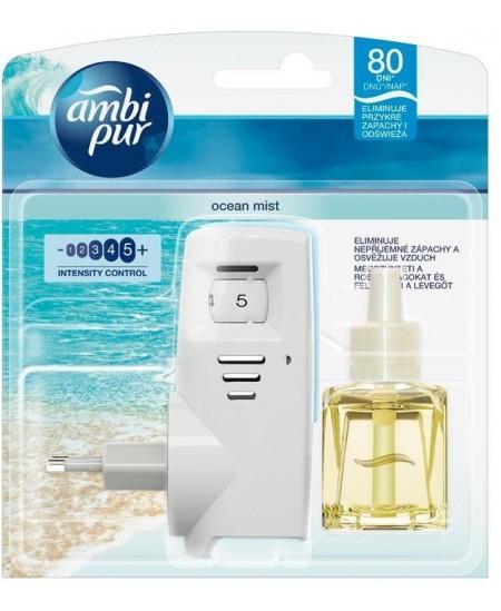 Elektrinis oro gaiviklis AMBI PUR su užpildu Ocean Mist, 20 ml