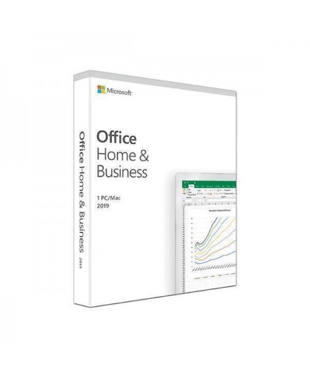 Microsoft T5D-03308 Office Home and Business 2019 1 Device, English, Medialess P6