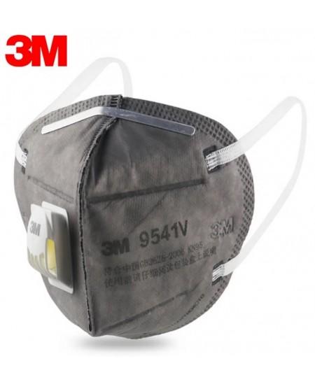 Veido kaukė (respiratorius) 3M 9541V, KN95/FFP2, su vožtuvu