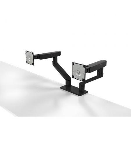 "Dell Dual Monitor Arm Desk Mount, MDA20, 19-27 "", Maximum weight (capacity) 10 kg, Black"