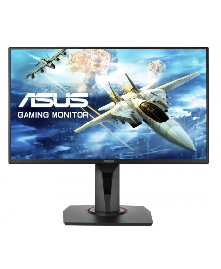 "Asus Gaming LCD VG258QR 24.5 "", TN, FHD, 1920 x 1080 pixels, 16:9, 1 ms, 400 cd/m², Black, 165Hz, FreeSync/Adaptive Sync"