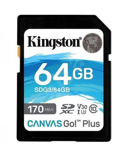 KINGSTON 64GB UHS-I SD Memory Card (Class 10)