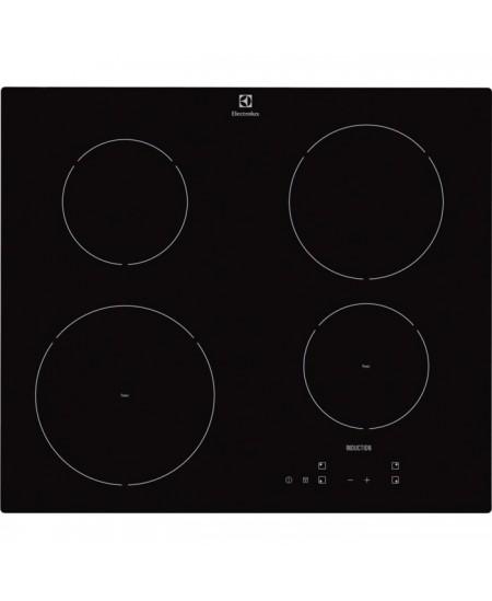 Electrolux Hob EHH6240ISK Induction, Number of burners/cooking zones 4, Black, Display,