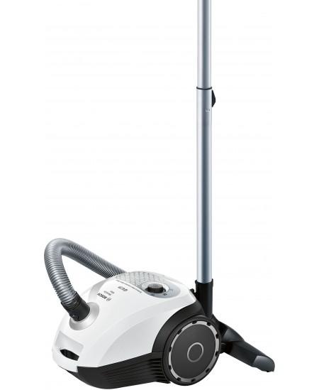 Bosch MoveOn Mini Vacuum cleaner BGL25MON9 600 W, Bagged, 3.5 L, 78 dB, White/Black, Warranty 24 month(s)
