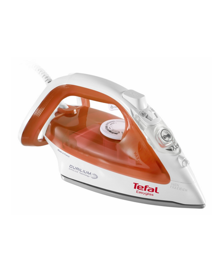 TEFAL FV3952  White/Orange, 2400 W, Steam Iron, Continuous steam 35 g/min, Steam boost performance 125 g/min, Anti-scale system,