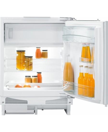 Gorenje Refrigerator RBIU6092AW Free standing, Larder, Height 82 cm, A++, Fridge net capacity 105 L, Freezer net capacity 21 L,