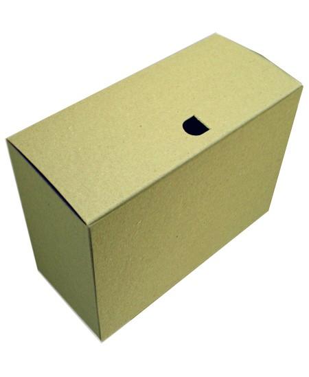 Archyvinė dėžė SM-LT, 330x155x270 mm, storo kartono, ruda