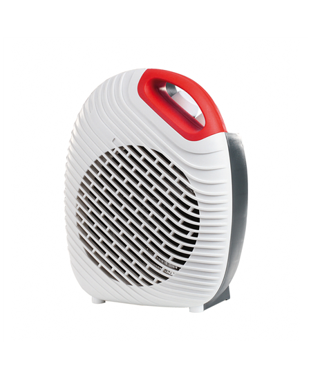 DomoClip Fan heater DOM339W Ceramic, Number of power levels 2, 1000/ 2000 W, White