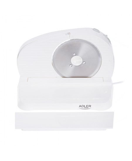 Adler Food slicer AD 4701 White, 200 W, 165 mm, 165 mm, Electric