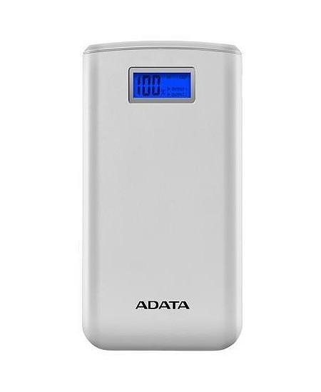 ADATA Power bank AS20000D 20000 mAh, Dual USB, White