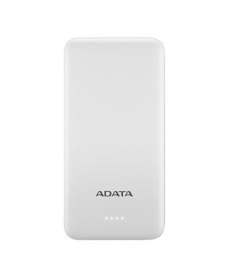 ADATA Power bank AT10000 10000 mAh, Dual USB, White