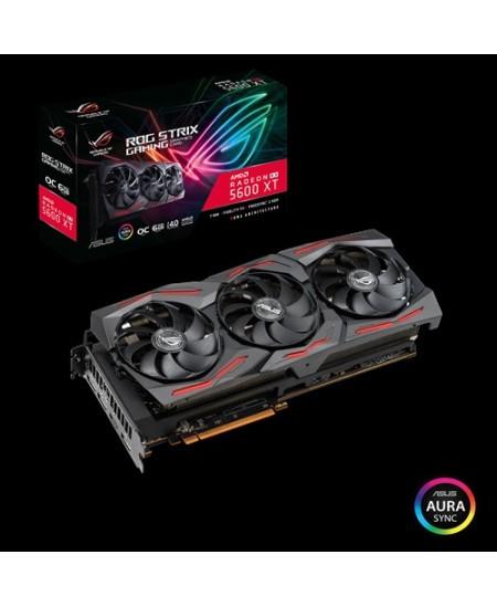 Asus ROG-STRIX-RX5600XT-O6G-GAMING AMD, 6 GB, Radeon RX 5600 XT, GDDR6, PCI Express 4.0, Processor frequency 1770 MHz, HDMI port