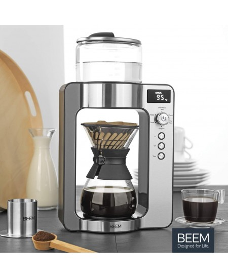 BEEM Coffee maker with scale Pour Over 03597 Drip, 1500 W, Silver/Black