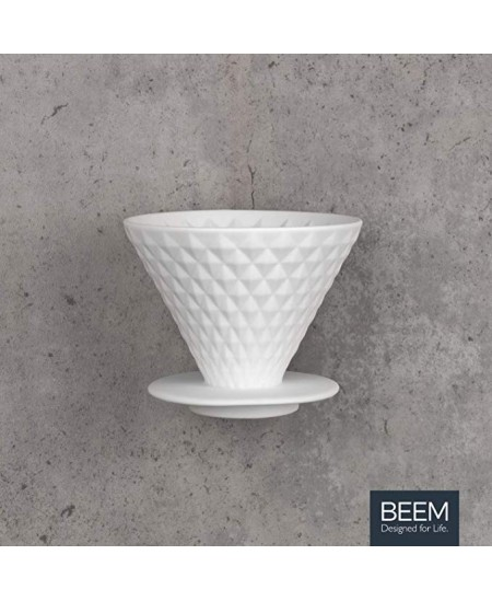 BEEM Coffee Filter with Stand  03377 Hand filter, White