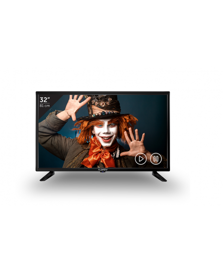 "Allview 32ATS5000-H 32"" (81cm), Smart TV, HD Ready, 1366x768 pixels, Wi-Fi, DVB-T/T2/C, Black"