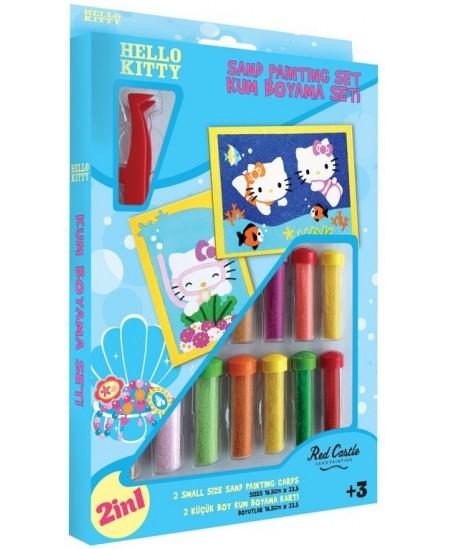 """Piešimo smėliu rinkinys """"Hello Kitty"""""""