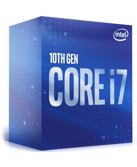 Intel i7-10700, 2.9 GHz, LGA1200, Processor threads 16, Packing Retail, Cooler included, Processor cores 8, Component for Deskto