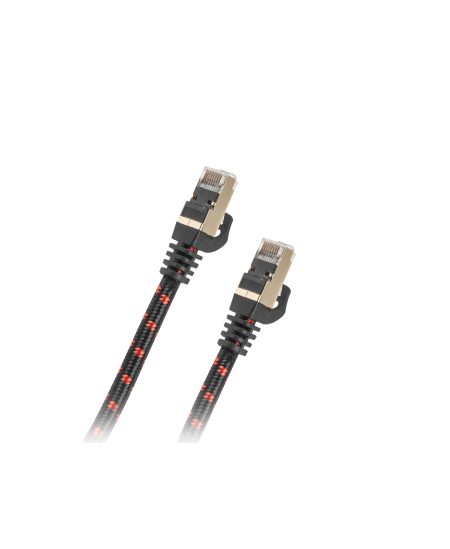 Genesis Patchcord NKA-0789 3 m, Black/Red