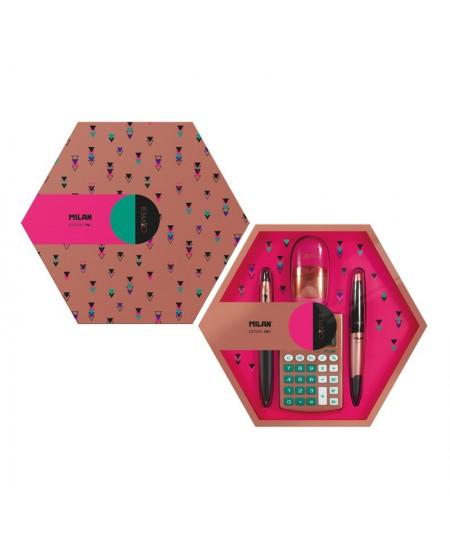 Dovanų dėžutė MILAN, rožinė