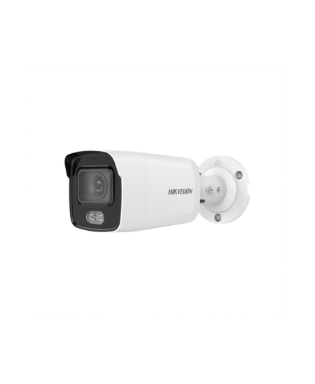 Hikvision IP Camera DS-2CD2027G1-L F2.8 ColorVu Bullet, 2 MP, 2.8-12mm/F1.6, Power over Ethernet (PoE), IP67, H.264/H.265, Micro