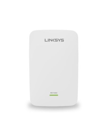 Linksys AC1900 WiFi Extender RE7000 300+1733 Mbit/s, 10/100/1000 Mbit/s, Ethernet LAN (RJ-45) ports 1, MU-MiMO Yes, no PoE,