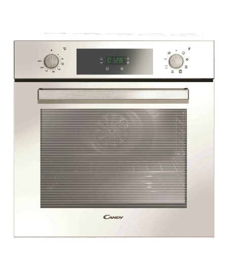 Candy Oven FCP625WXL/E 69 L, A+, Electric, Steam cleaning, Rotary knobs/ electronic, Height 60 cm, Width 60 cm, White/Stainless