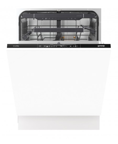 Gorenje Dishwasher GV66160 Built-in, Width 60 cm, Number of place settings 16, Number of programs 5, A+++, AquaStop function, Gr