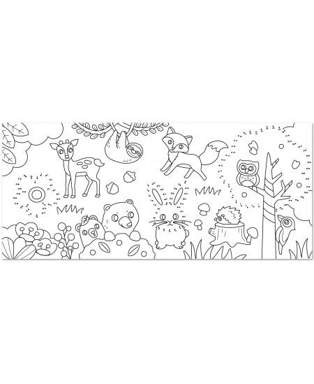"""Lipnus spalvinimo ritinys STICK´N """"Miško žvėreliai"""", 31cm x 35m"""