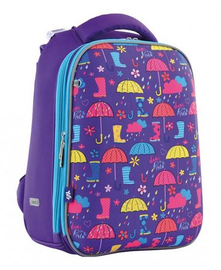 Kuprinė YES H-12 Umbrellas, forminė, 38 x 29 x 15 cm, violetinė sp.