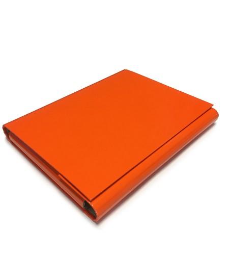 Kartoninis aplankas su lipdukais, oranžinis
