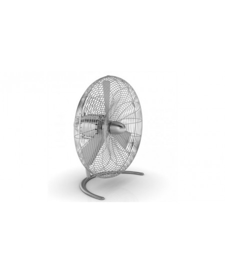 Stadler form CHARLY C050E Floor Fan, Number of speeds 3, 60 W, Oscillation, Diameter 45 cm, Stainless steel